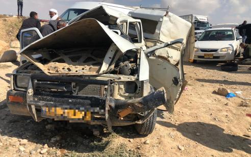 חשד לפגע וברח בנגב: נהג בן 70 נהרג מפגיעת משאית – הנהג הסגיר עצמו