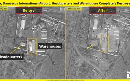 מחסני הנשק והמפקדה הושמדו כליל: תיעוד נזקי התקיפה בסוריה