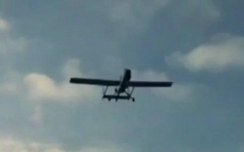 מטוסי קרב הפילו מל״ט שהמריא מרצועת עזה וטס באופן חריג