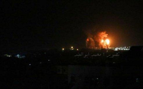 חיל האוויר תקף יעדי הג'יהאד האיסלמי בדמשק ובעזה – 6 מחבלים חוסלו