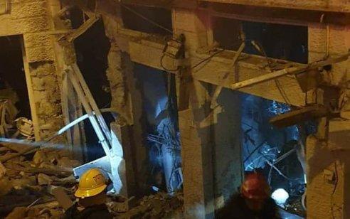 נס בירושלים: שלושה פצועים קל בפיצוץ אדיר שגרם להרס בבית כנסת בשכונת בית וגן