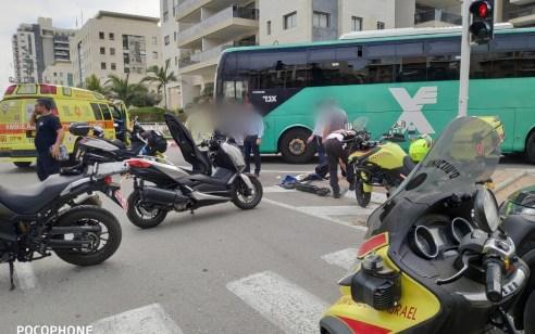 הולך רגל בן 67 נפגע מאוטובוס בראשון לציון – ונהרג
