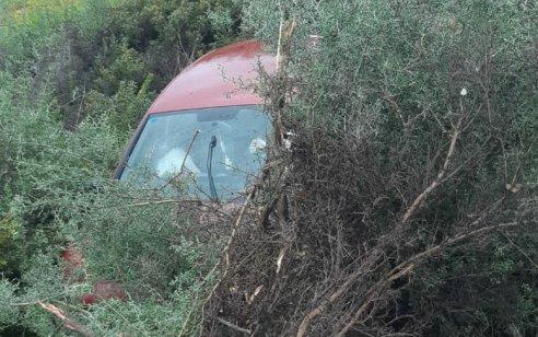 בת 29 נפצעה בינוני לאחר שהידרדרה סמוך לכפר ג'ת