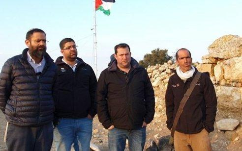 בעקבות תלונתו של ראש מועצת שומרון: נעצר ערבי שאיים לפגוע במטיילים בתל ארומה