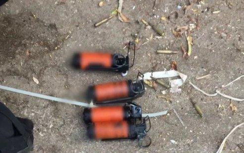סוכל פיגוע: לוחמים ירו לעבר מחבלים שהשליכו סלעים ורימוני הלם סמוך לכפר דיר אבו משעל