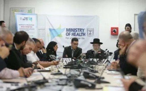 """שר הבריאות: """"צוות אנשי תקשורת נשכר במטרה להכפיש את משרד הבריאות בתקווה לשינויים בממשלת האחדות"""""""