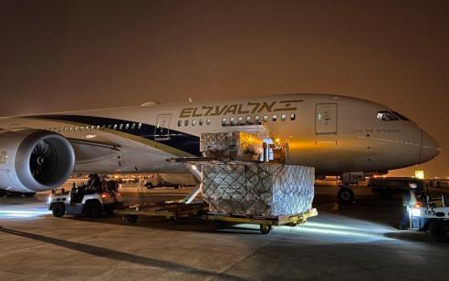 רכבת אווירית של 11 מטוסי אל על תביא מסין לישראל מיליוני פריטים של ציוד רפואי חיוני