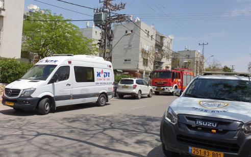 גבר כבן 60 נשרף למוות בדירתו בבאר שבע