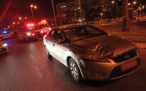 הולכת רגל בת 84 נהרגה מפגיעת רכב בבאר שבע