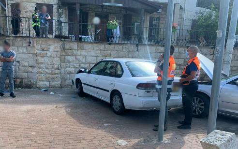 קשיש כבן 80 נפגע מרכב בחיפה ונהרג