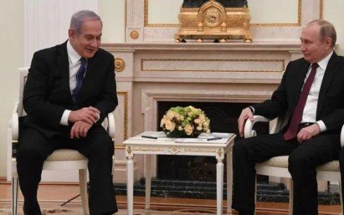 """נתניהו שוחח עם פוטין: """"דנו על שיתוף פעולה ברכש של ציוד רפואיים וסיכמו לאפשר תנועה בין רוסיה לישראל"""""""