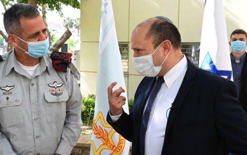 """השר בנט: """"עברנו מבלימה של התבססות איראן בסוריה – לדחיקתה משם"""""""