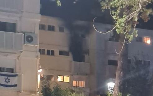 קשישה כבת 80 נהרגה ובעלה נפצע אנוש בשריפה במבנה מגורים במעלות