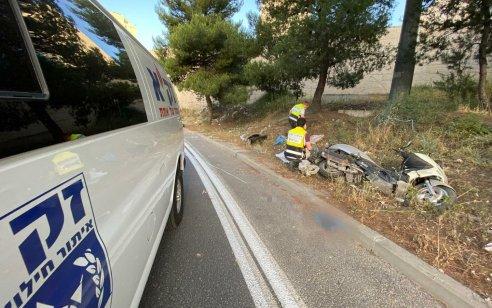 רוכב אופנוע בן 27 נהרג בתאונה קטלנית בכניסה לגבעת מרדכי בירושלים