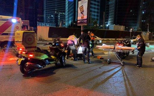רוכב אופנוע כבן 20 נהרג בתאונה עצמית בבני ברק
