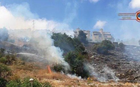 בשל תנאי מזג האוויר הקיצוניים: נציב הכבאות הוציא צו האוסר הדלקת אש בשטחים פתוחים
