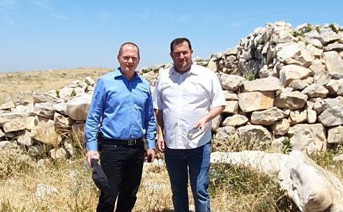 חשש כבד: הר עיבל יעבור לשליטה פלסטינית בעקבות החלת הריבונות