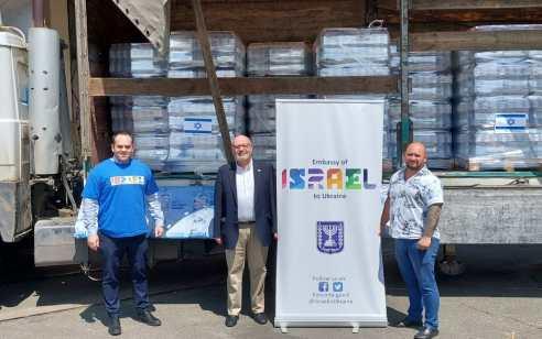 שגרירות ישראל באוקראינה מסייעת לנפגעי השיטפונות במדינה