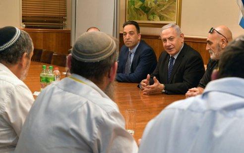 """ראש הממשלה מגנה בתוקף את דברי יו""""ר מועצת יש""""ע: """"הנשיא טראמפ הוא ידיד גדול של ישראל"""""""