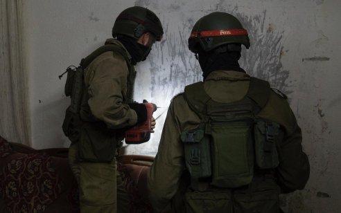 """לקראת הריסתו: כוחות צה""""ל מיפו את ביתו של המחבל נזמי אבו באכר שרצח את הלוחם עמית בן יגאל"""