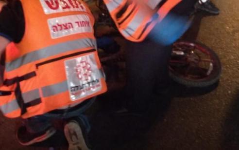 בן 35 שרכב על אופניים חשמליים נפצע בתאונה באשדוד – מצבו בינוני