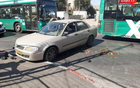 שלושה נערים נעצרו לאחר מרדף בחשד לגניבת רכב בשכונת שמואל הנביא בירושלים