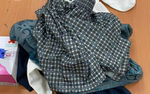 בגדים ספוגים בסם נתפסו במסוף ביקורי משפחות בדרכם לעצור המוחזק בבית הסוהר ׳צלמון'