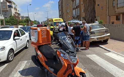 הולכת רגל כבת 75 נפגעה מרכב בנתניה – מצבה בינוני