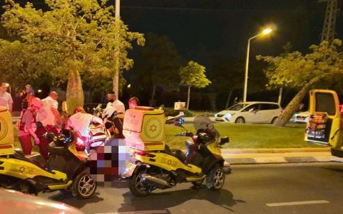 בת 70 נפגעה מרכב בבאר שבע – ונהרגה