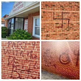 ארה״ב: מרכז התורה וקסמן בקליבלנד אוהיו הושחת אתמול בגרפיטי אנטישמי