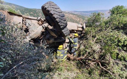חייל בן 20 נהרג וקצין נפצע בינוני בהתהפכות רכב צבאי סמוך לגבול לבנון