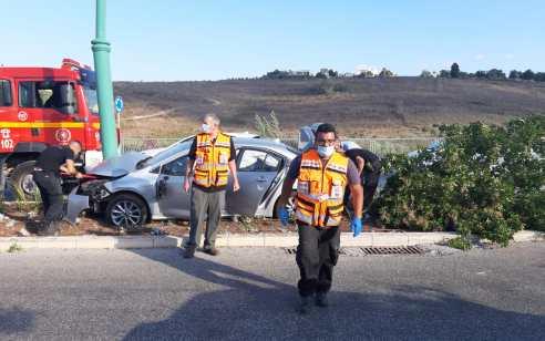 בת 5 נפגעה מרכב במושב בְּאֵרוֹתַיִם – מצבה בינוני