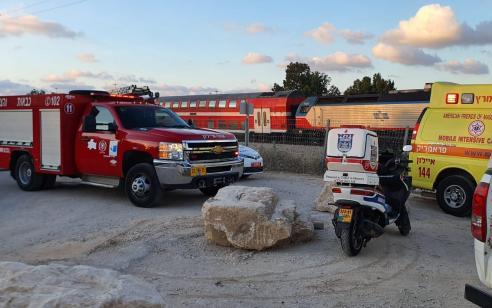 רמלה: הולך רגל נפגע מרכבת – ונהרג