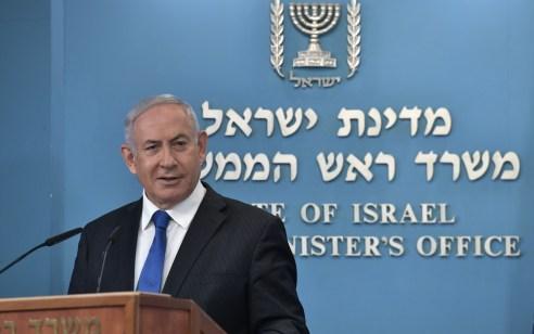 נתניהו: ההחלטה שלא לאפשר את חידוש אמברגו הנשק על איראן – שערורייתית; ישראל תמשיך לפעול במלוא העוצמה