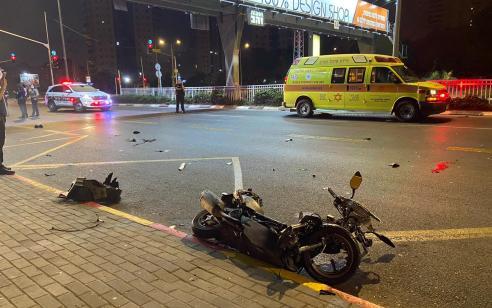 הקטל בכבישים: רוכב אופנוע כבן 21 נהרג מפגיעת רכב בראשון לציון
