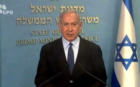 """נתניהו: """"מברך את בן זאיד על הסרת החרם על מוצרים ישראליים"""""""
