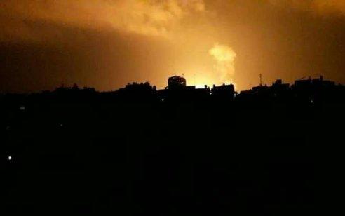 בתגובה להמשך שיגור בלוני התבערה והנפץ: חיל האוויר תקף תשתיות תת-קרקעיות של חמאס ברצועת עזה