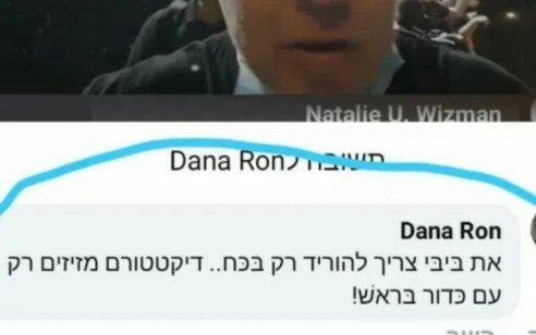 """המשטרה פיענחה את זהותה של """"דנה רון"""" שהסיתה נגד ראש הממשלה  – מדובר בתושבת חוץ"""