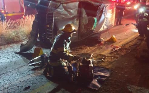 צעיר כבן 25 נהרג כתוצאה מהתהפכות רכבו בבאר שבע