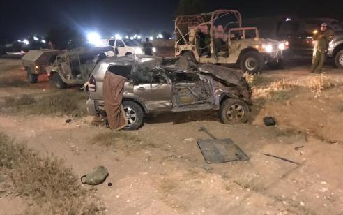הרוג ושני פצועים קשה וקל בתאונה קשה סמוך לבסיס צאלים