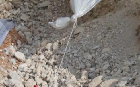 טרור בלוני הנפץ: רימון מאולתר מחובר לבלון נחת באתר בנייה בגן יבנה – אין נפגעים