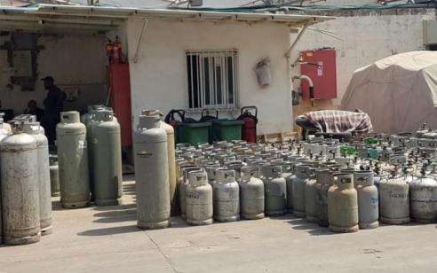 נתפסו מעל ל-300 מכלי גז החשודים כגנובים תוך סיכון הציבור – תושב נבי סמואל עוכב לחקירה