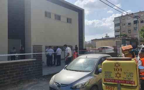 פועל בן 48 נפל מגובה בטבריה – ונהרג
