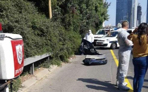 גופת גבר נמצאה סמוך לירידה לכביש 20 באזור מחלף דרך השלום בתל אביב