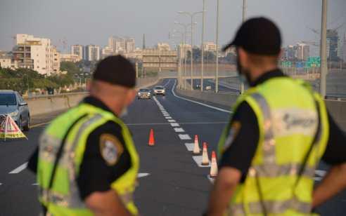 """ירידה באכיפה בעקבות הסגר: כ-1,300 דו""""חות תנועה נרשמו במהלך השבוע"""