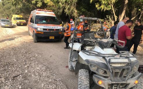 רוכב טרקטורון בן 22 נהרג לאחר שהתהפך ביער מגידו