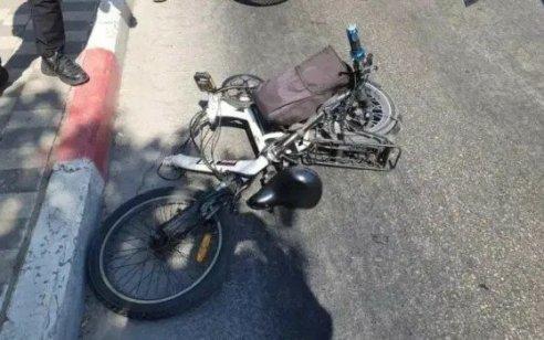נער בן 14 החליק מאופניים חשמליים בעספיא ונהרג