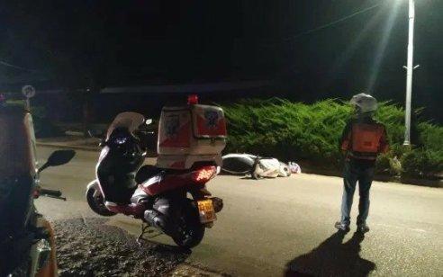 שני רוכבי אופנוע נפצעו כשהחליקו במודיעין – אחד מהם במצב קשה