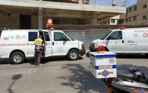 פועל בניין בן 32 נהרג בראשון לציון לאחר שנפל מגובה באתר בנייה