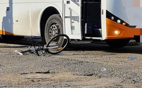 נער בן 15 שרכב על אופניים נפגע מאוטובוס בבני ברק – מצבו בינוני